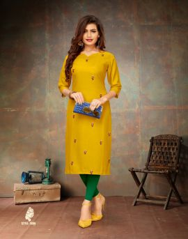 Morocco by banwery causal wear kurtis catalogue