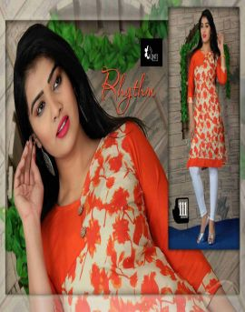 Wholesale kit kat cotton low price Kurtis Catalog