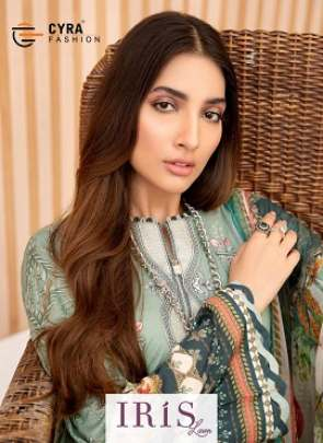 Cyra Iris Heavy Jam Satin Designer Pakistani Suits