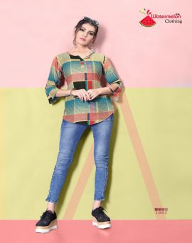 Diamond party vol 2 by watermelon printed top catalogue