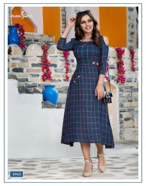Manisha Fashion Mehar designer kurti catalogue