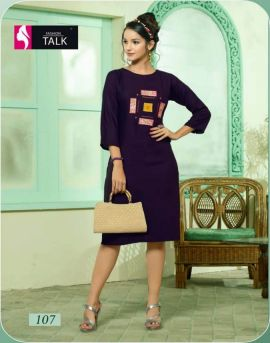 Fashion talk by rumani designer kurtis collection