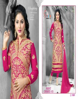 Designer First choice salwar kameez wholesale catalogue-5