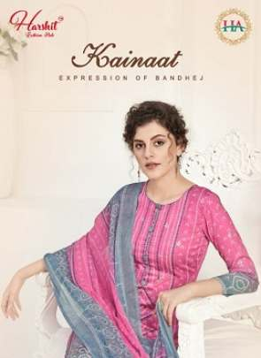 HARSHIT KAINAAT BANDHNI DIGITAL PRINTED JAM