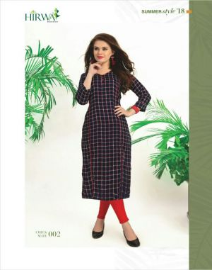 Checkmate : Hirwa Kurti Catalogue