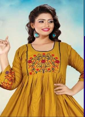 Honey Alexa  Rayon Kurti Collection