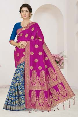 Jinga Lala 1 Heavy Banarasi Silk Saree Collection