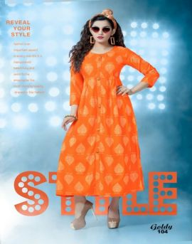 Goldy : Kersom Kurti Catalogue