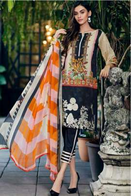 KILRUBA HIT COLLECTION 1 LUXURY LAWN DIGITAL PRINTED