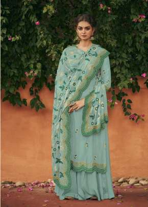 KIMORA 1605 COLOR DESIGNER HEAVY EMBROIDERED SALWAR SUIT