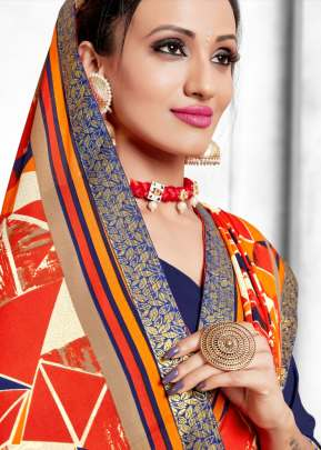 Kodas present Dilnashee vol 16 Rennial Printed Saree Collection