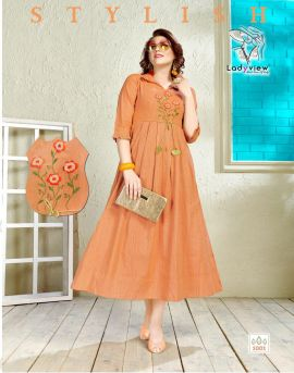 Mango Dolly by ladyview designer kurti collection