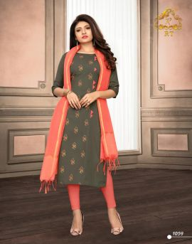 Nari vol 9 by rijiya trends cotton kurti catalogue