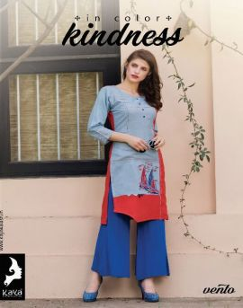 Kaya vento kurtis catalog at online kurtis wholesaler