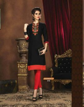 Kaya Orange Vol 5 | Short kurti Designer