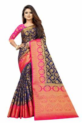 Peacock 1 Heavy Banarasi Silk Designer Saree