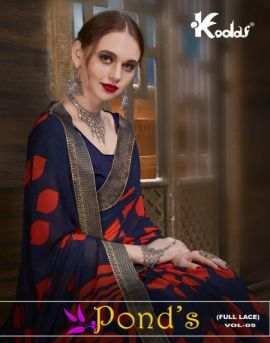 Ponds vol 5 by kodas daily wear sarees collection