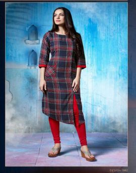 Checks 2 : S-More Designer Kurtis