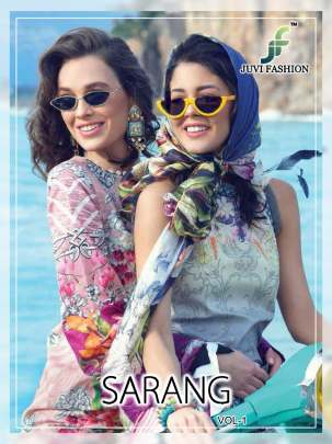 Sarang vol 1 lawn Pakistani Salwar Suits collection.