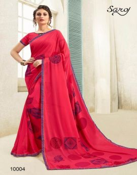 Andaaz by saroj party wear sarees