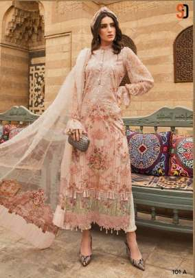 Shraddha Present Maria B vol 101 Pakistani Suits