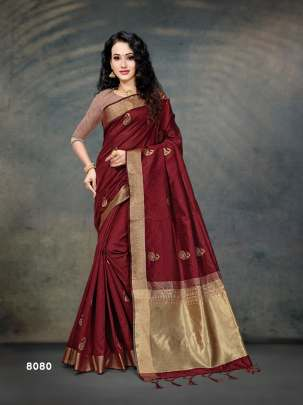 sitka presents Ridhi Fancy Printed Saree Collection