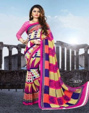 splash 74 Haytee printed saree catalogue