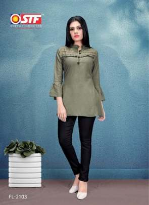 Stf Florence 21  Rayon Tops Collection