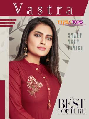 Tips&Tops Vastra Rayon Kurti With Bottom Collection